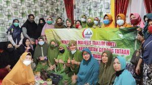 Jalin Silaturahmi HMT Desa Kebagusan Gelar Pengajian Bulanan