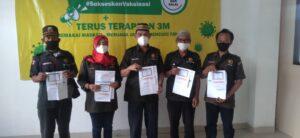 Vaksinasi Tahap Pertama Untuk Jurnalis Sudah Dilaksanakan DPD KO-WAPPI Ucapkan Terima Kasih Pada Pemerintah Daerah