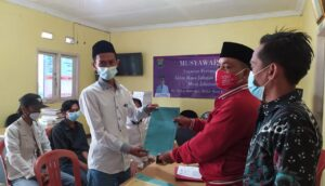 Daftarkan diri dalam ajang Pilkades Mekar Baru, Sakian Berkomitmen Membangun Desa