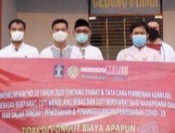 Rutan kelas 1 Tangerang mengeluarkan 8 (delapan) orang Napi untuk menjalani Asimilasi rumah